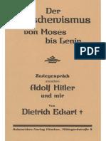 Eckart, Dietrich - Der Bolschewismus von Moses bis Lenin (1924,57S.,Scan)