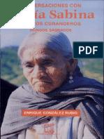 Conversaciones con María Sabina y otros Curanderos