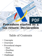 Tax Procedure in Spain
