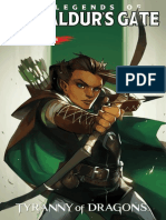 Dungeons & Dragons Legends of Baldur's Gate #4 Preview