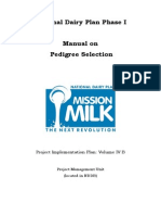PIP Vol IV B Manual on Pedigree Selection