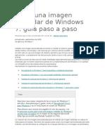Crear Una Imagen Estándar de Windows 7