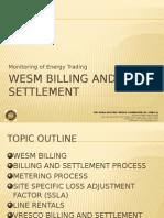 Wesm Billing and Settlement Presentation 1