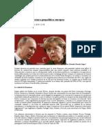 La Nueva Arquitectura Geopolítica Europea