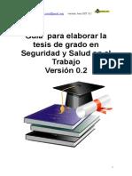 GUIA Tesis Sst PREGRADO INGENIERIA Formato Version 0.2