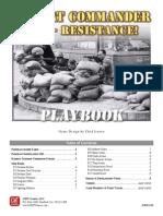 Combat Commander Resistance! Rules