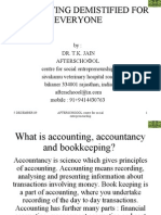 Accounting Demistified for Everyone