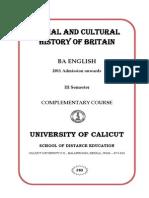 Social and Cultural History 16