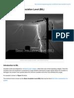 Electrical-Engineering-portal.com-Definition of Basic Insulation Level BIL