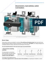 Electrical-Engineering-portal.com-Differences Between Disconnectors Load Switches Switch Disconnectors and Circuit Breakers
