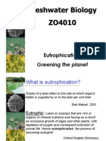 1. Eutrophication
