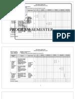 Program Semester Kelas IV 2013