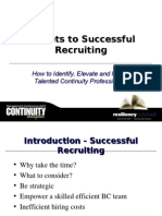 Secrets to Successful Recruiting How to Identify Elevate And291