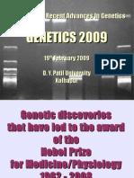Nobel Laureates in Genetics