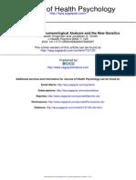 Interpretative Phenomological Analysis and the New Genetics