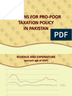 OPTIONS FOR PRO POOR TAXATION POLICY IN PAKISTAN (PRESENTATION).pdf