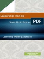 7-Month Leadership Training Intervention