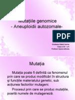 Mutatii genomice