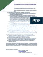 Nota Informativa Ensayos de Aptitud en Ultrasonido