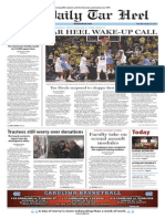 The Daily Tar Heel for Jan. 22, 2015