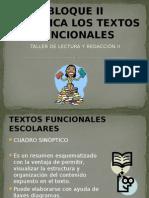 BLOQUE II CLASIFICA TEXTOS FUNCIONALES.pptx