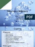 Săpunuri şi detergenţi