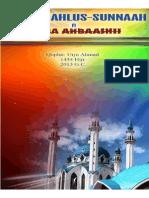 Aqiidaa Ahlus-sunnaah Fi Kijiba Ahbaashi
