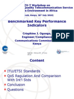 ITU- Standrad Speech Quality