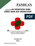 PANDUAN IMD DAN ASI EKSKLUSIF.doc