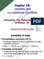 Brdy 6Ed Ch18 Solubility