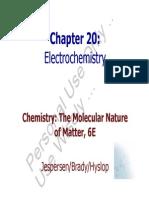 Brdy 6Ed Ch20 Electrochemistry