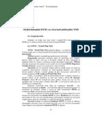Studiul Limbajului HTML Si a Structurii Publicatiilor Web