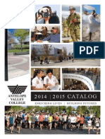 Antelope Valley College Catalog