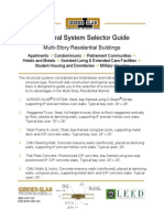 5 Structural System Selector Guide