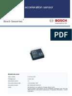 BMA180 Data Sheet
