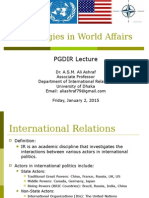 Ashraf_Ideologies in World Affairs