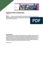 Functional Wall Fundamentals
