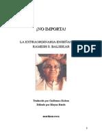 NO IMPORTA- Ramesh Balsekar