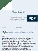 Advanced Food Safety Training 29012014