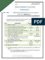 Periodic Work- 19