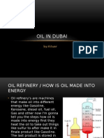 oil in dubai