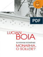 Suveranii Romaniei. Monarhia, o - Lucian Boia