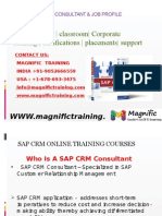 Sap Crm Online Training In Australia