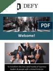 Defy Ventures Information Packet 1
