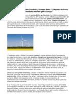 Green economy, Pietro Lucchese, Gruppo Rem