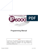 IP6000 Programming Manual