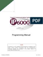 IP6000 Programming Manual