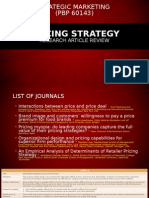 Articles Review Pricing Strategy.ppt