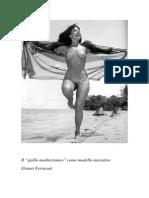 """Ferra - Il """"Giallo Mediterraneo"""" Come Modello Narrativo"""