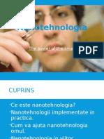 Nanotehnologia Proiect Power Point
